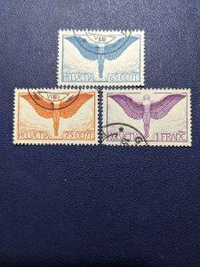 Switzerland C10-12 XF, CV $103.50