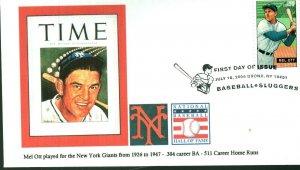 JCT Lonegoat 4082 New York Giants Great Mel Ott Time Magazine