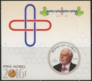 MALI NOBEL PRIZE WINNERS CHEMISTRY 2016 SIR JF STODDART IMP S/SHEET MINT NH
