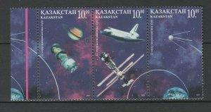 Kazakhstan 1997 Space 3 MNH stamps