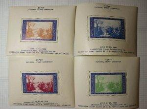 SEPAD 1938 Swedish American Exhibition Souvenir Booklet  Philatelic Ad Label