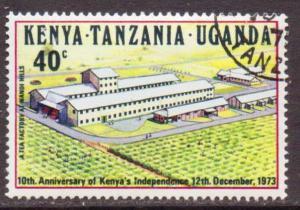 Kenya,Uganda,Tanz.  #276  used  (1973)