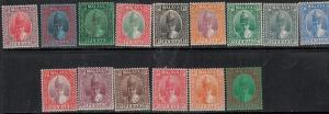 Malaya-Perak 1935 SC 84-98 Mint SCV$ 515.00 Set