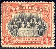 Meeting of the Assembly, North Borneo stamp SC#170 used