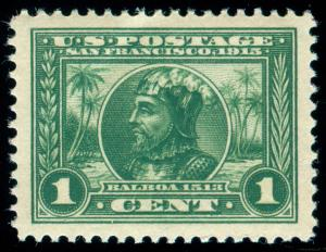 MOMEN: US STAMPS #397 MINT OG NH PSE GRADED CERT XF-SUP 95J