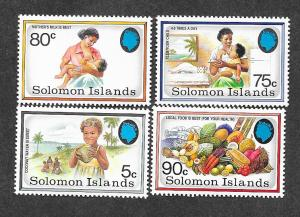 Solomon Islands 690-693 Mint NH MNH!