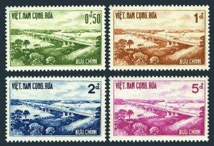 Viet Nam South 166-169,MNH.Michel 243-246. Saigon-Bien Hoa Highway Bridge,1961.
