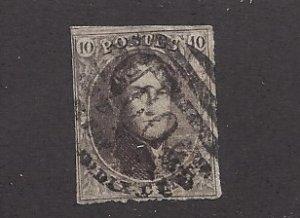 Belgium, 10, King Leopold I Single, **Used**