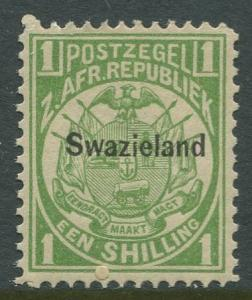 STAMP STATION PERTH Swaziland #5 Overprint Issue MNH CV$24.00
