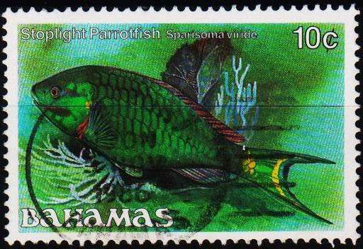 Bahamas. 1986 10c S.G.759A Fine Used