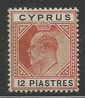 CYPRUS  57  MINT HINGED,  KING EDWARD VII