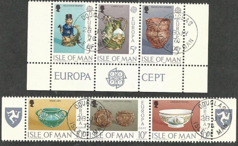 Isle of Man 88a & 91a