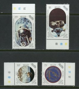 BELIZE  APOLLO 11 20th ANNIVERSARY OF THE MOON LANDING SET MINT NH