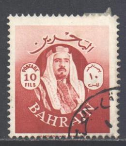 Bahrain Scott 142 - SG140, 1966 Sheik 10f used