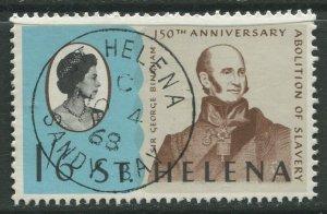STAMP STATION PERTH St Helena #207 Abolition of Slavery 1968 VFU