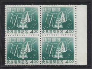 US Ryukyu Islands #35 MNH Block of 4