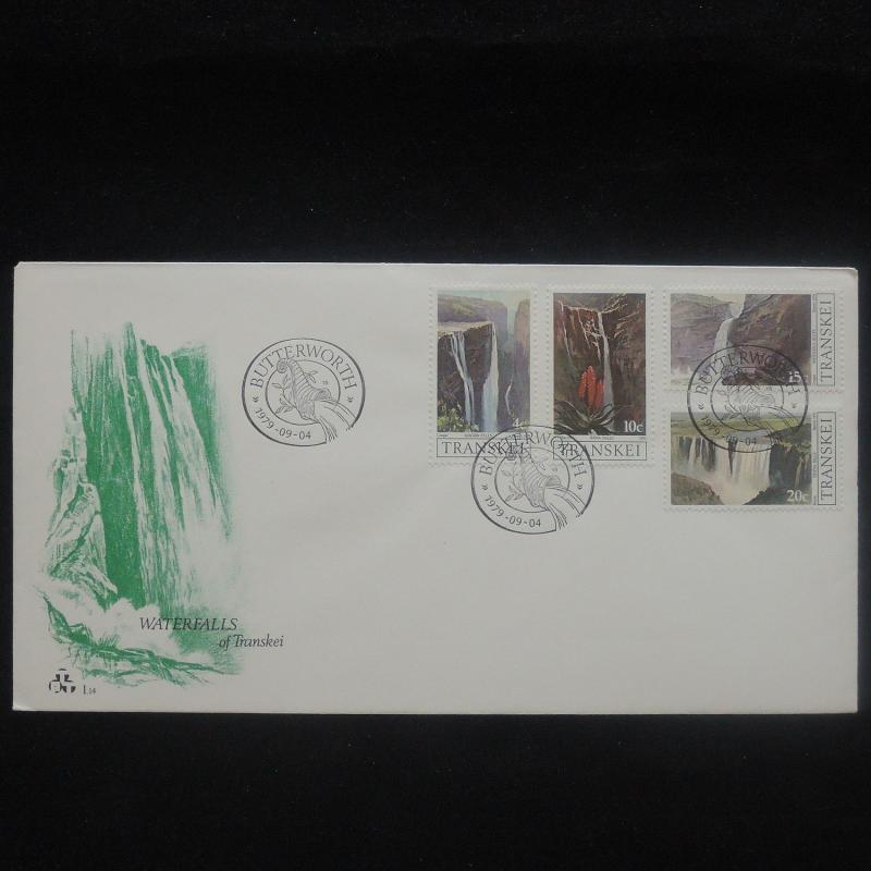 ZS-P193 TRANSKEI - Fdc, Nature, Paintings Waterfalls 1979 Cover