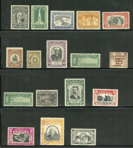 PANAMA CLASSIC MOSTLY MINT SELECTION HIGH CATALOGUE VALUE AS SHOWN