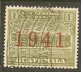 Guatemala   Scott  RA16     Overprint     Used