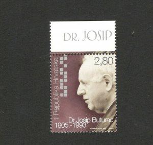 CROATIA-MNH STAMP-FAMOUS-JOSIP BUTURAC-2005.