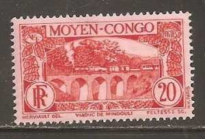 Middle Congo  SC 71  Mint Hinged