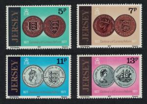 Jersey Coins Centenary of Currency Reform 4v SG#171-174