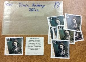 3182c Celebrate the Century 1900s lot MNH 12 Stamps  Great Train Robbery movie