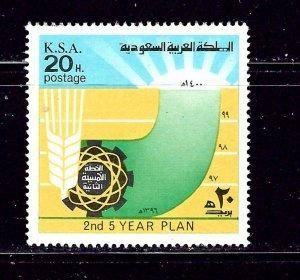 Saudi Arabia 689 MH 1976 issue