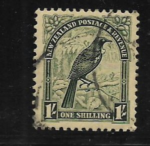 NEW ZEALAND,196, USED, TUI OR PARSON BIRD