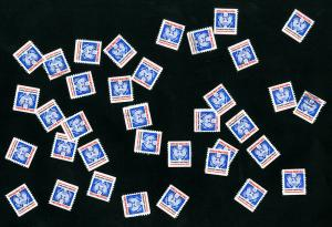 US Stamps # O139 XF Used Lot of 36x Scott Value $720.00