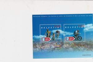 Switzerland Bicycles Stamps Sheet Mint Never Hinged ref R 16751