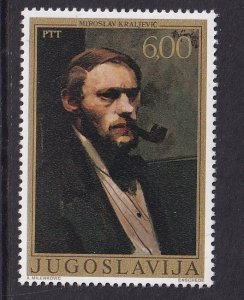Yugoslavia   #1357   MNH  1977  self-portraits  6d  Kraljevic