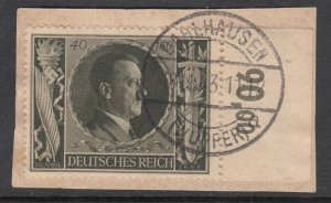 Germany B236 Used on Piece VF