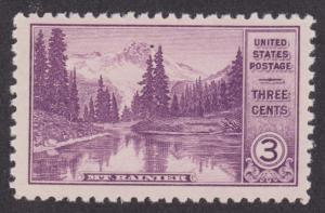 742 National Parks Issue: Mt. Rainier F-VF MNH Single