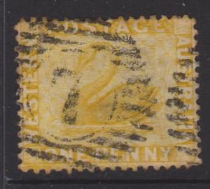 Western Australia Sc#49 Used Small Tear Top Left