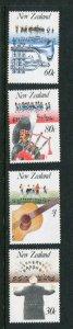 New Zealand #857-60 MNH