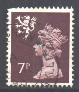 GB Regional Scotland Scott 21 - SG S24, 1971 Machin 7p used