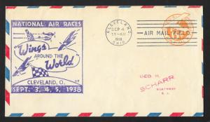 UNITED STATES Event Cover National Air Races 1938 Cleveland