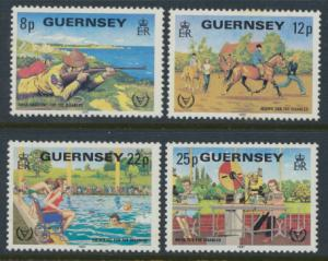 Guernsey  SG 245-248  SC# 232-235 MLH Disabled Persons  see details