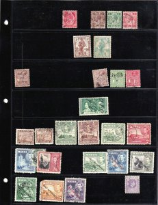 MALTA 2 STOCK PAGES COLLECTION LOT 44 STAMPS $$$$$$$