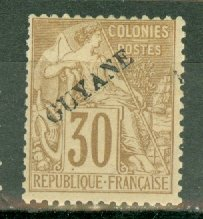 M: French Guiana 26 mint CV $47.50