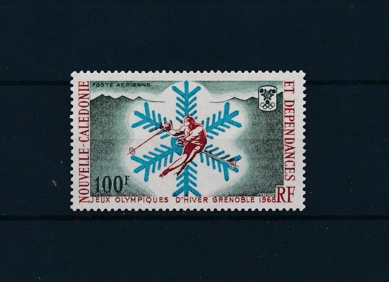 [46354] New Caledonia 1967 Olympic games Grenoble Skiing MNH