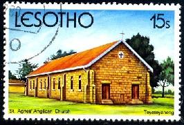 St. Agnes' Anglican Church Teyateyaneng, Lesotho SC#315 used