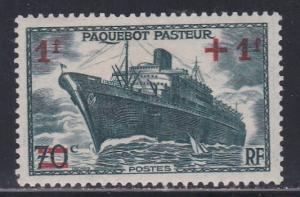 France #  B114, Liner Pasteur, Hinged