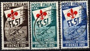 Italy #574-6  F-VF Used  CV $1500.00  (X3554)