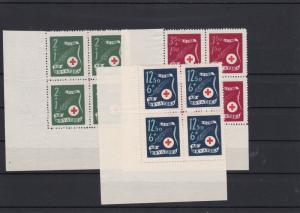 Croatia Red Cross  Mint Never Hinged Stamps Blocks ref R 18355