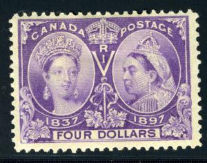CANADA SCOTT# 64 SG# 139 MINT HINGED AS SHOWN