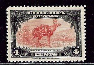 Liberia 286 MH 1942 issue    (ap2517)