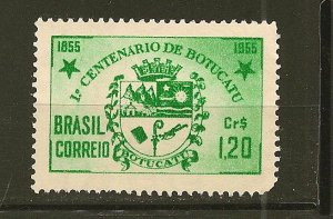 Brazil 821 Arms of Botucatu Mint No Gum