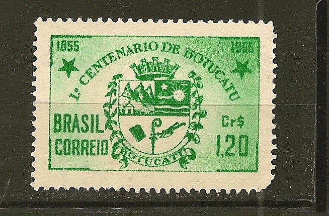 Brazil 821 Arms of Botucatu Mint No Gum
